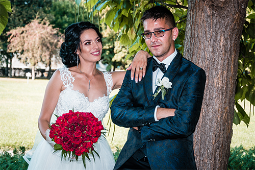 Tudor si Mariana – Povestea nuntii in fotografii